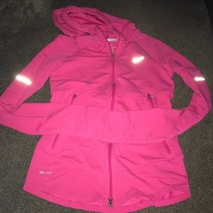 Nike Running Zip up Size Small